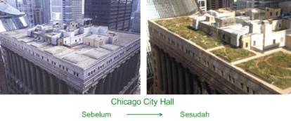 Chicago City Hall SebelumSesudah